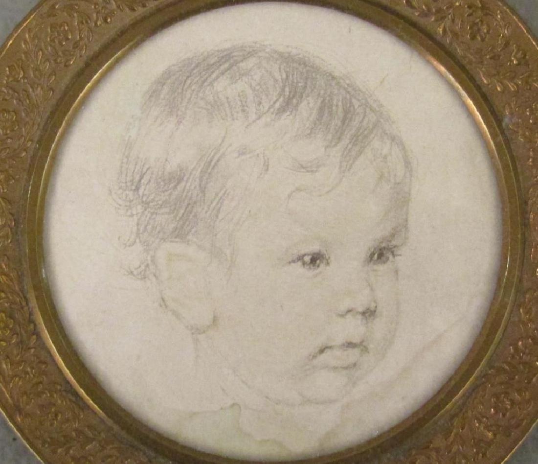 3 Miniature Portraits - 2