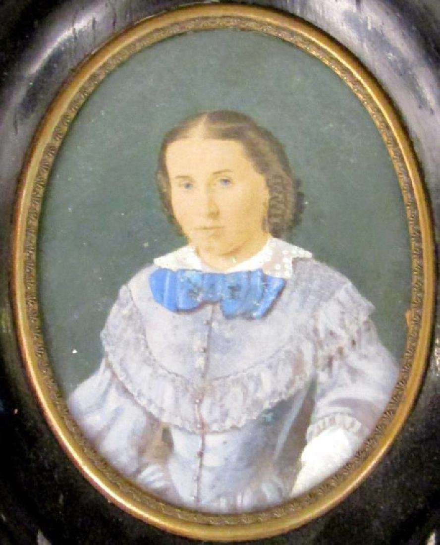 3 Miniature Portraits - 3