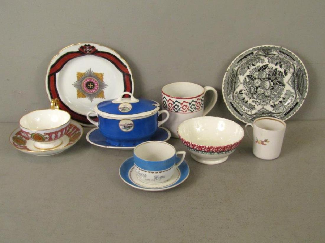 Assorted Russian and Style Porcelain