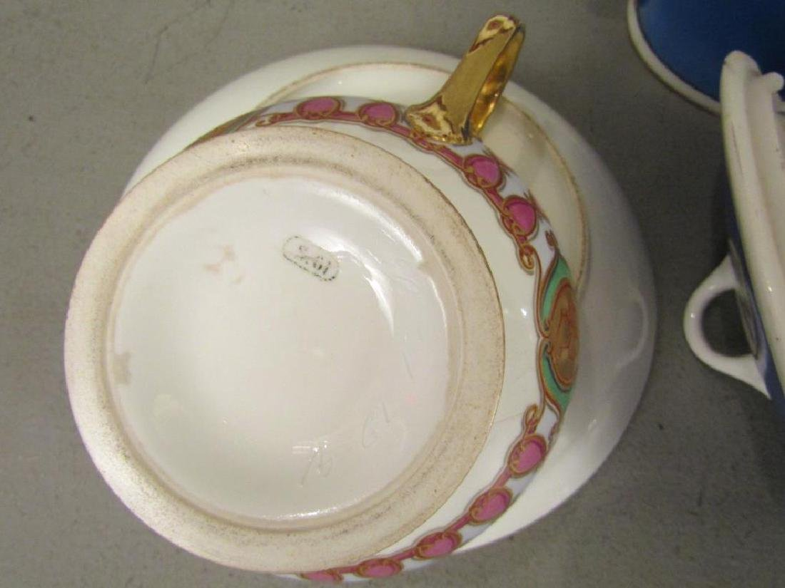 Assorted Russian and Style Porcelain - 5