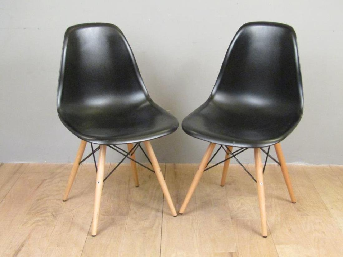 Pair Mid Century Style Chairs