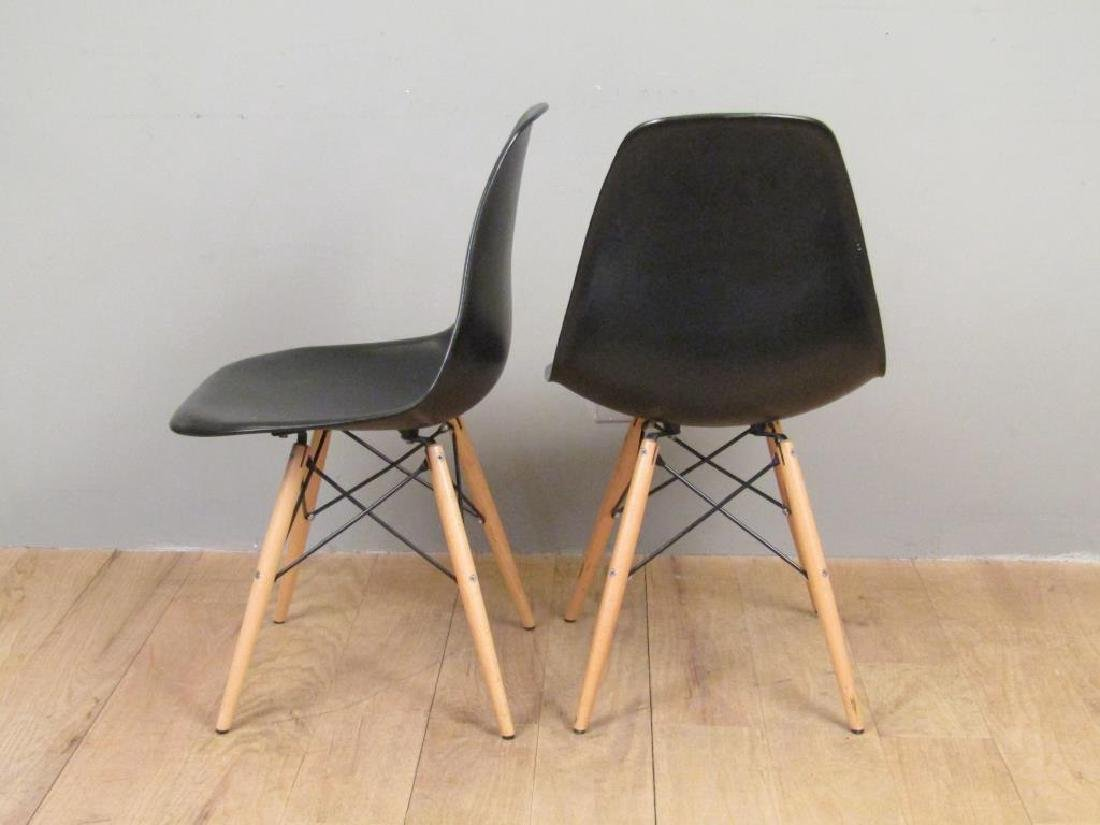 Pair Mid Century Style Chairs - 2