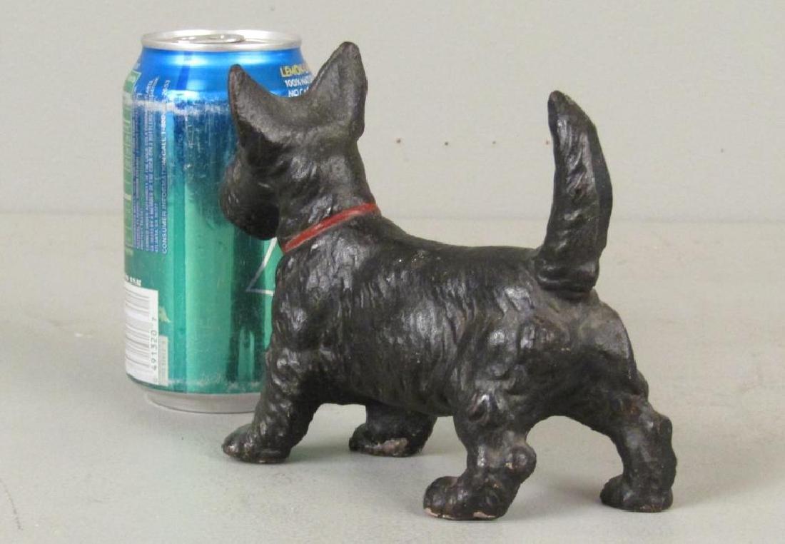 Cast Iron Yorkie / Terrier Doorstop - 2