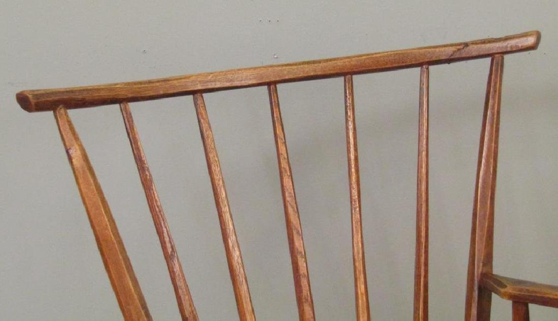 Pair of Antique Style Arm Chairs by Hunt, NY - 3