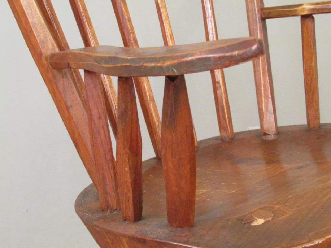 Pair of Antique Style Arm Chairs by Hunt, NY - 4