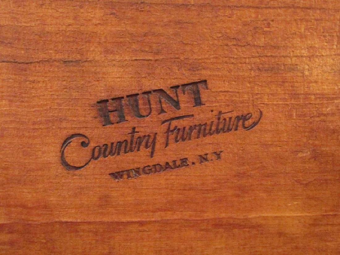 Pair of Antique Style Arm Chairs by Hunt, NY - 7