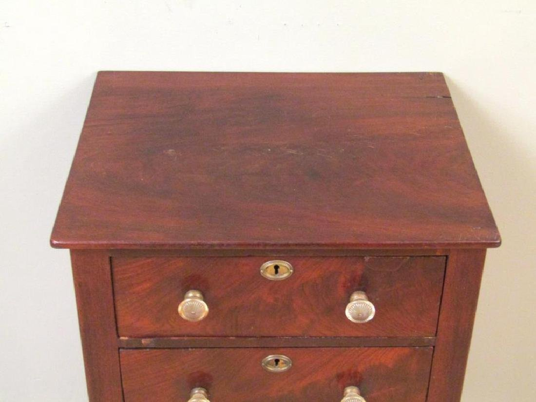 American Empire Mahogany End Table - 3