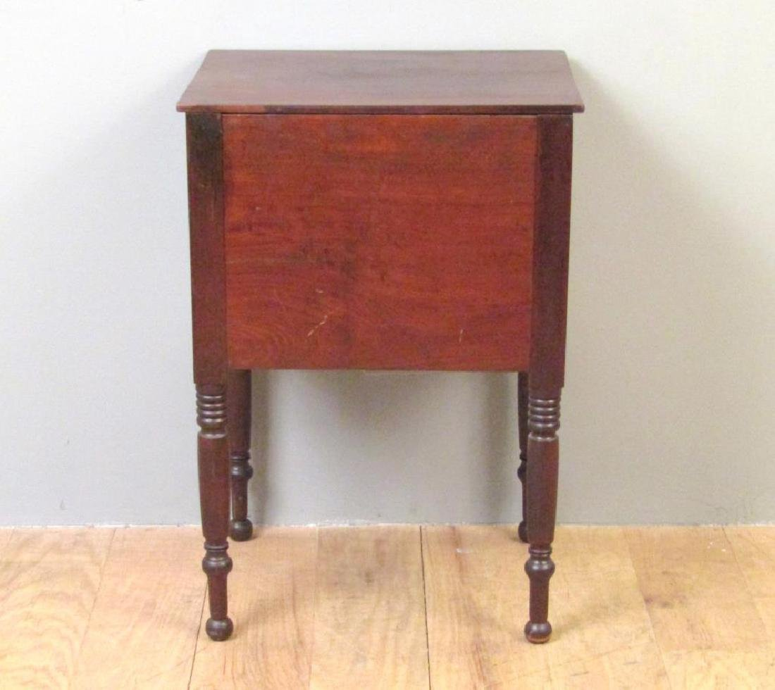 American Empire Mahogany End Table - 5