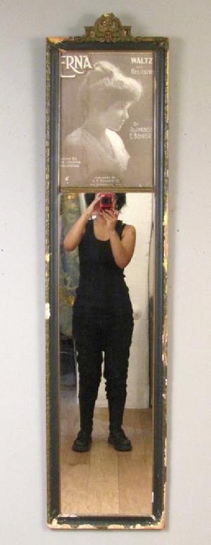 Victorian Style Trumeau Mirror