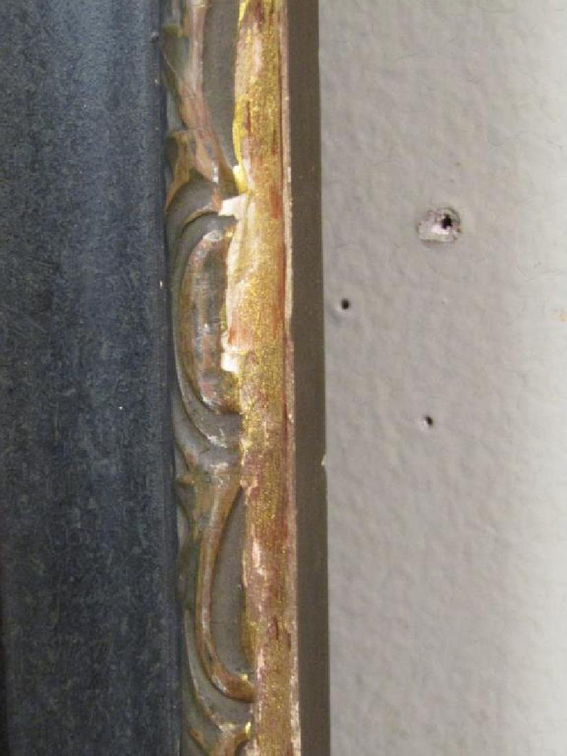 Victorian Style Trumeau Mirror - 3