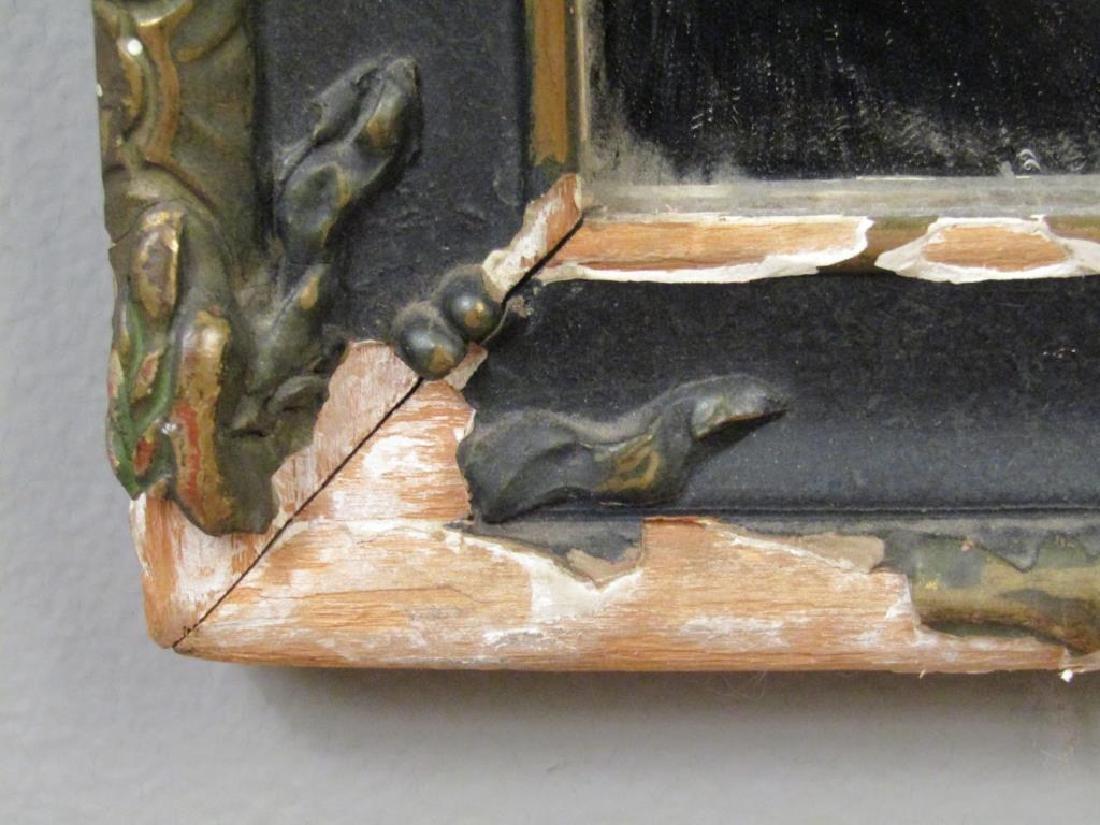 Victorian Style Trumeau Mirror - 4