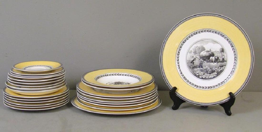 15+ Villeroy and Boch Partial Dinner Set
