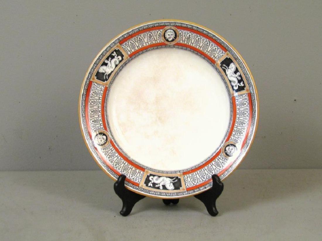 Antique Minton Porcelain Plate