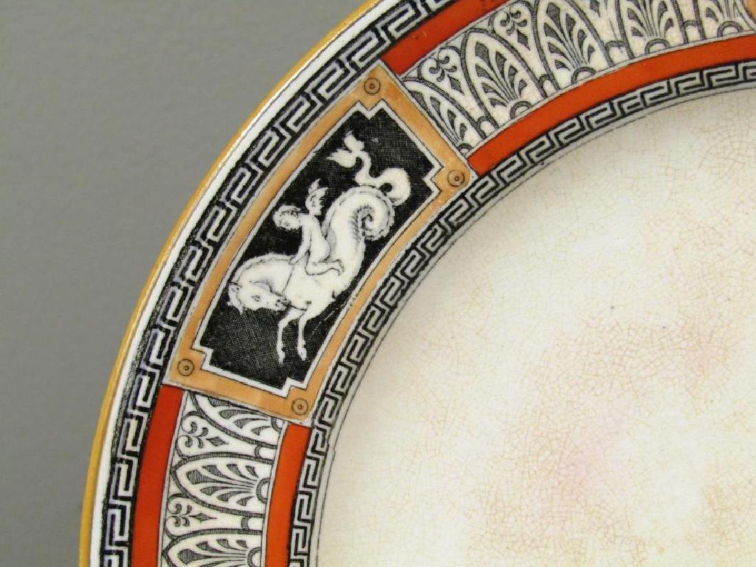 Antique Minton Porcelain Plate - 2