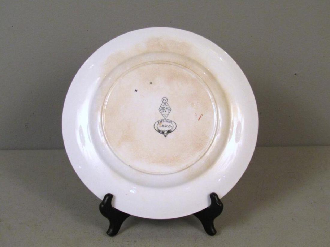 Antique Minton Porcelain Plate - 4