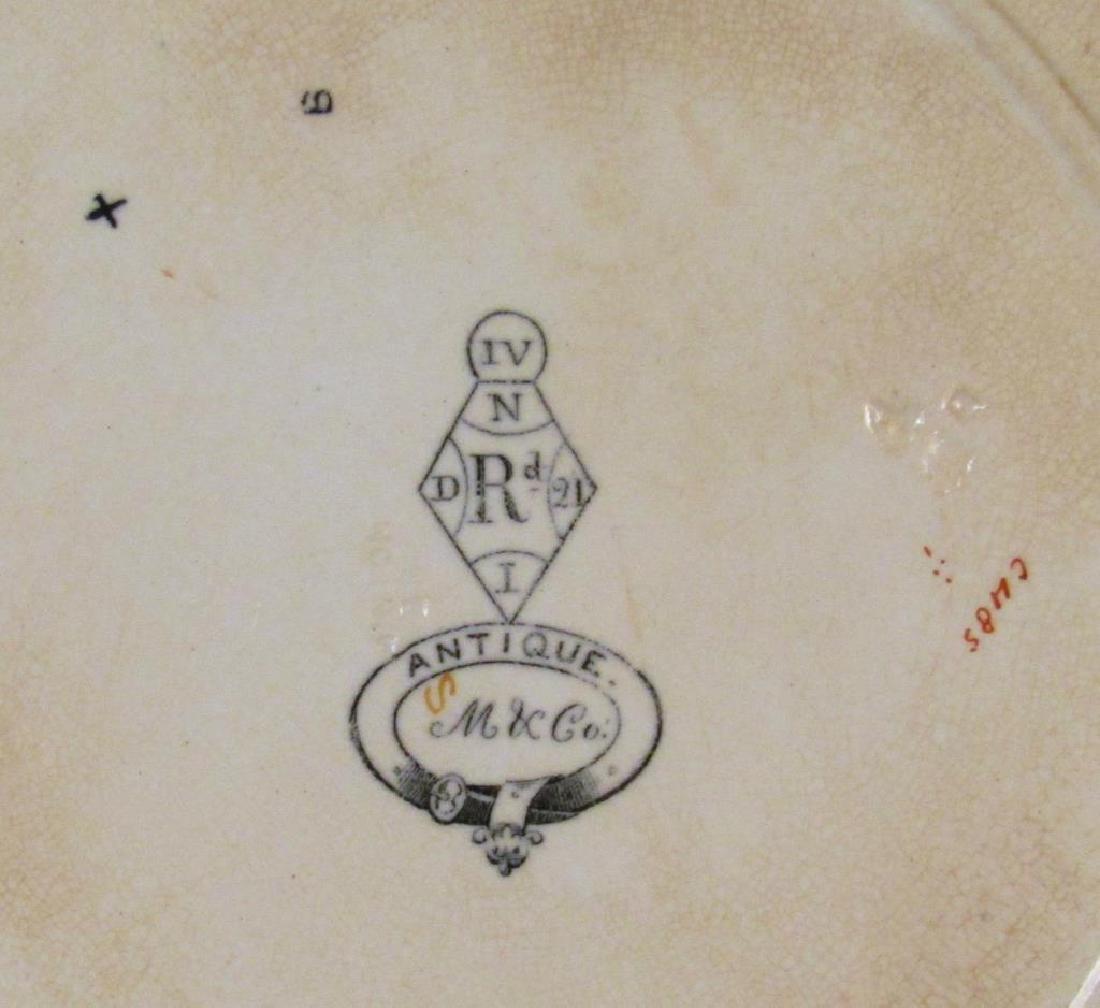 Antique Minton Porcelain Plate - 5