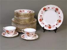 Royal Crown Derby Porcelain Dish Set