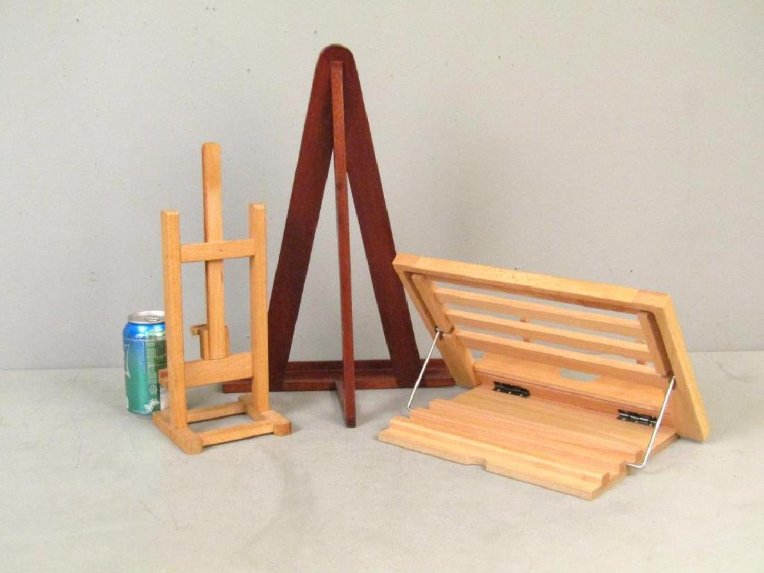 2 Easels and One Book Stand - 2