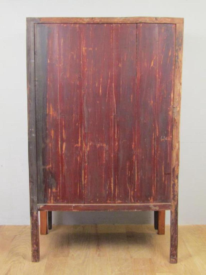 Small Chinese Armoire Cabinet - 7