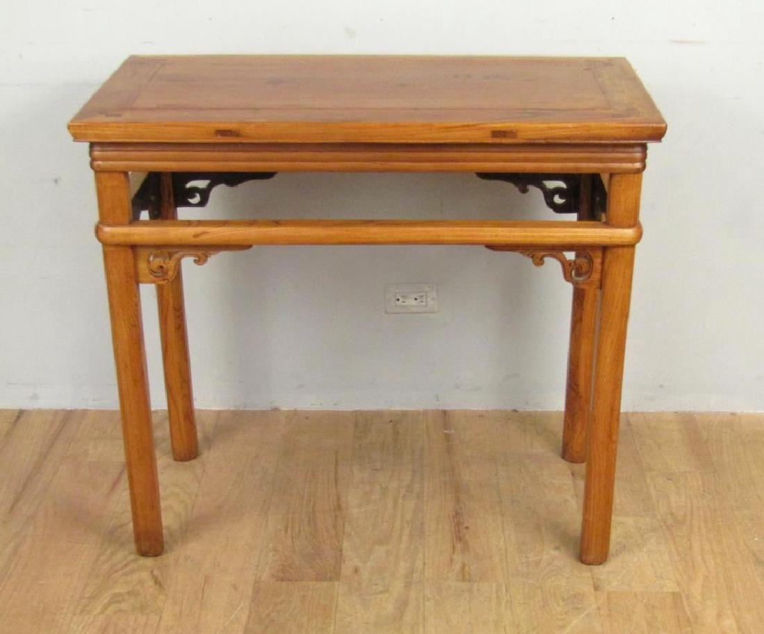 Chinese Lightwood Console / Center Table