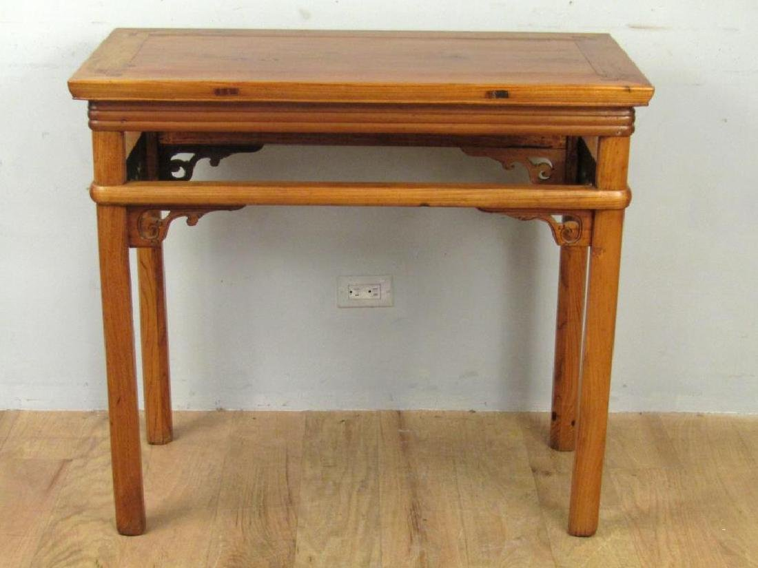 Chinese Lightwood Console / Center Table - 5