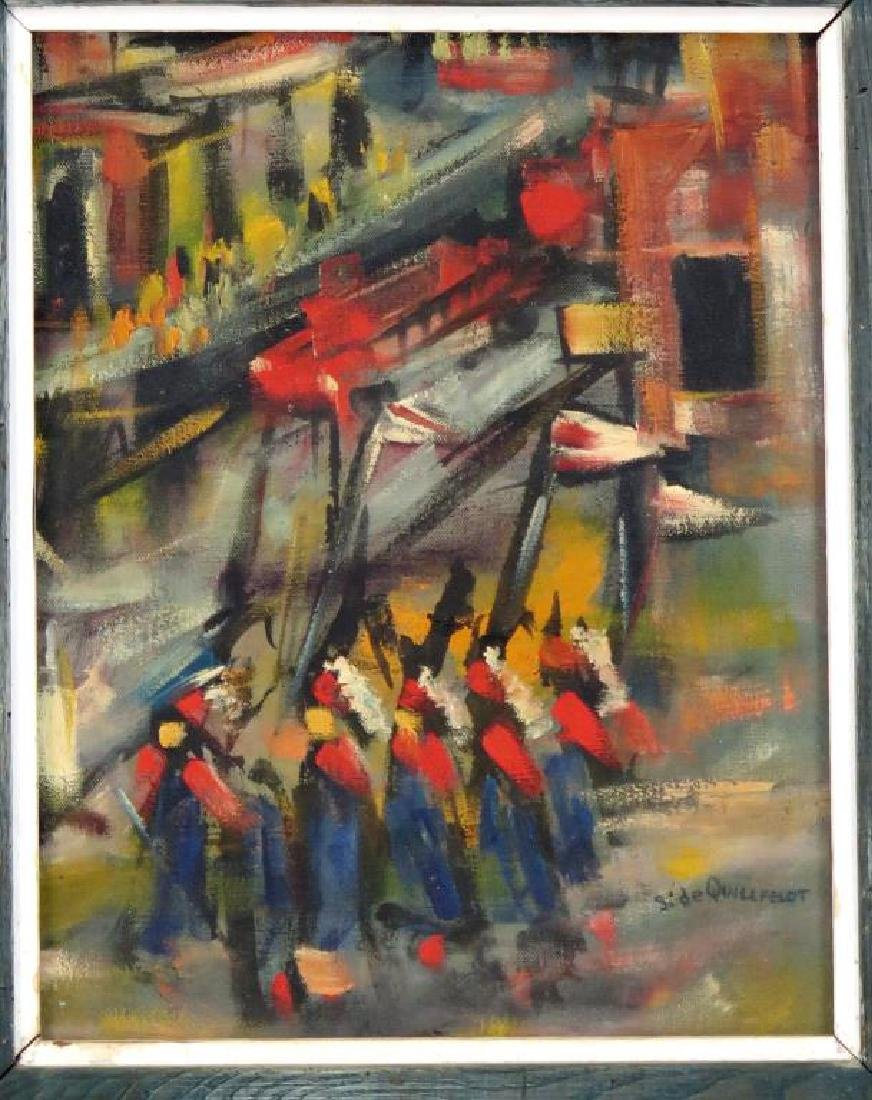 Signed S. de Quillfeldt- Oil on Canvas