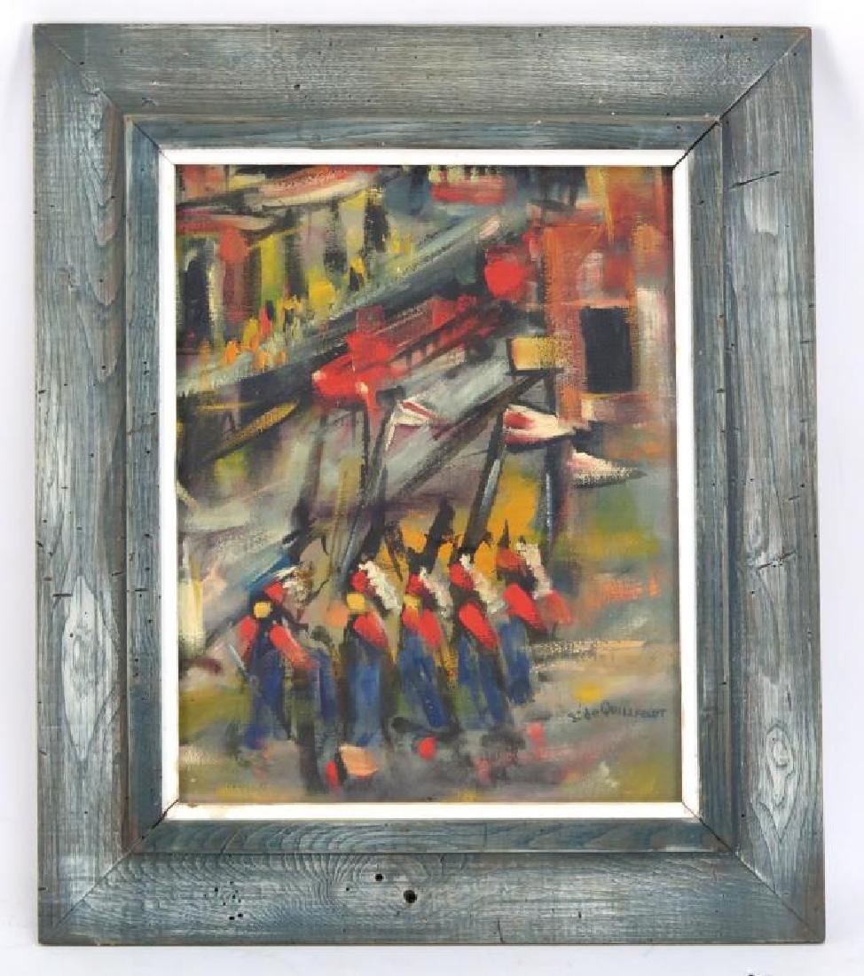 Signed S. de Quillfeldt- Oil on Canvas - 2