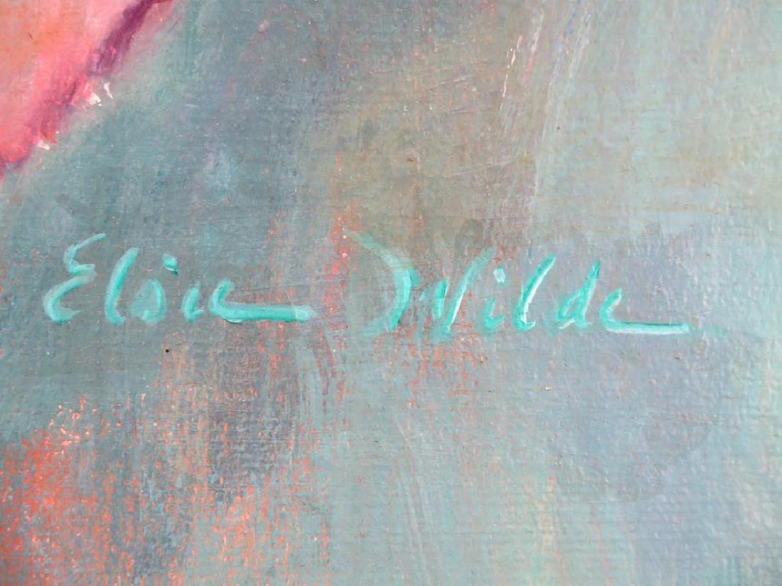 Elsie Wilde (American, XX)- Oil on Canvas - 2