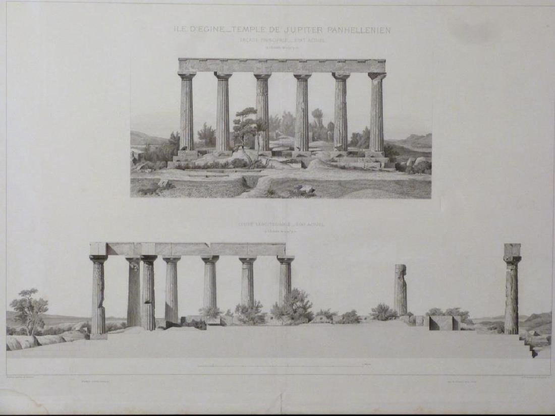 2 Architectural Prints of Roman Ruins - 2
