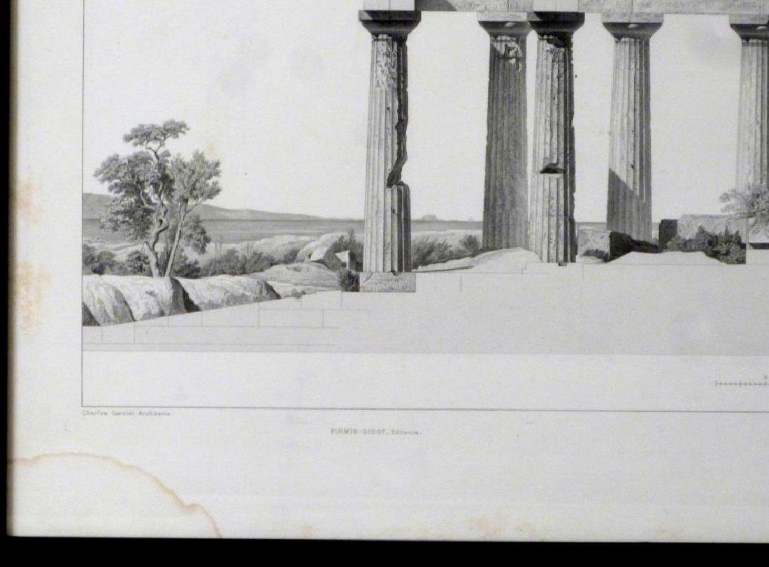 2 Architectural Prints of Roman Ruins - 3
