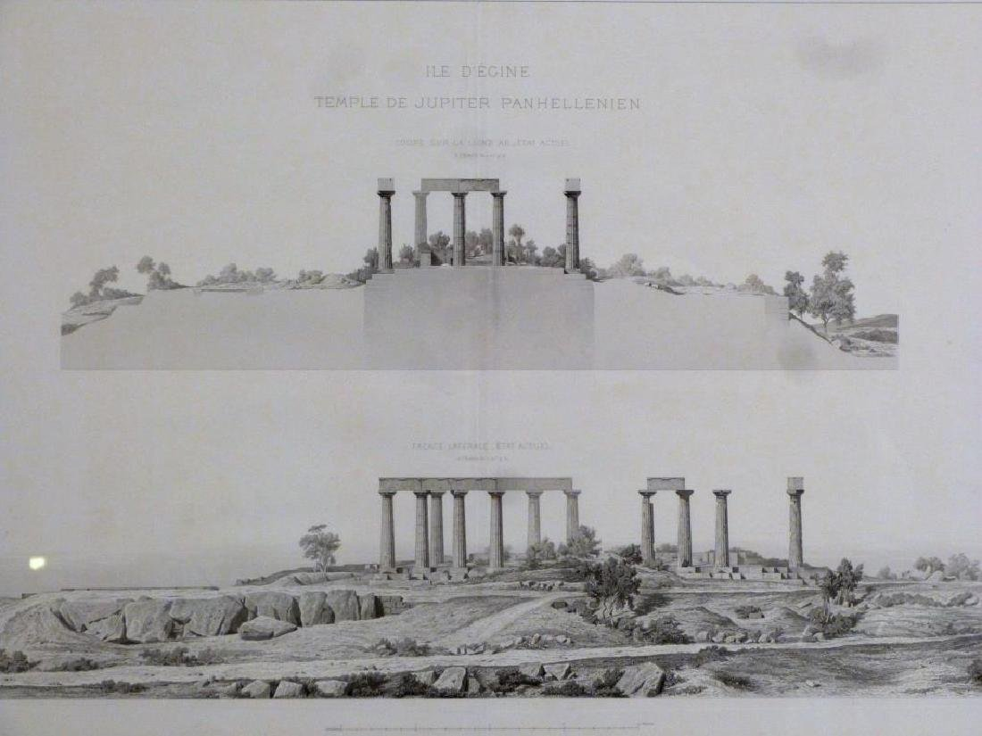 2 Architectural Prints of Roman Ruins - 4