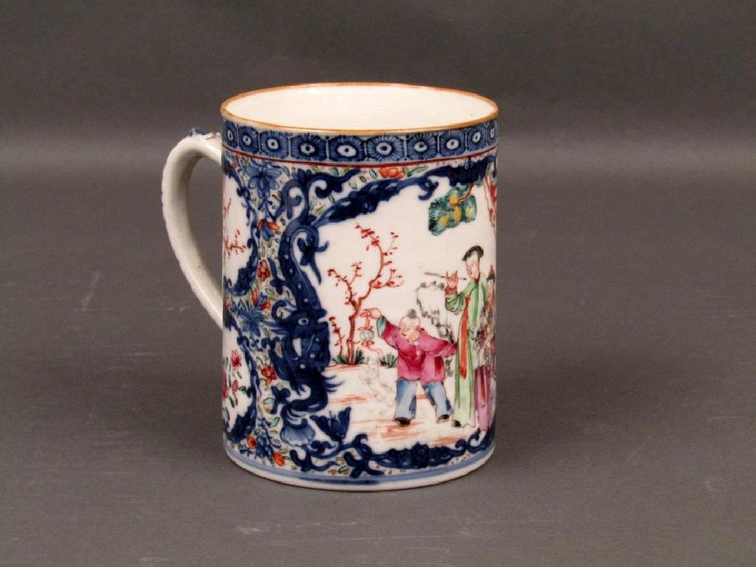Chinese Porcelain Brush Mug