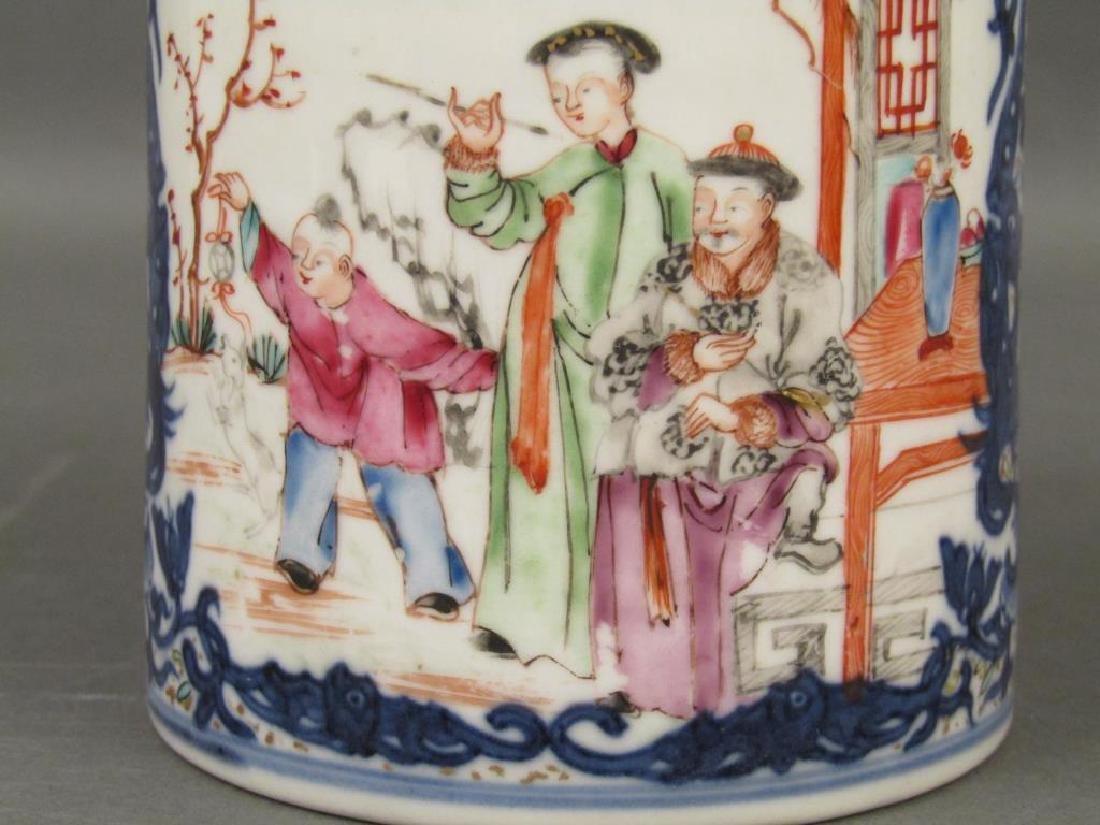Chinese Porcelain Brush Mug - 5