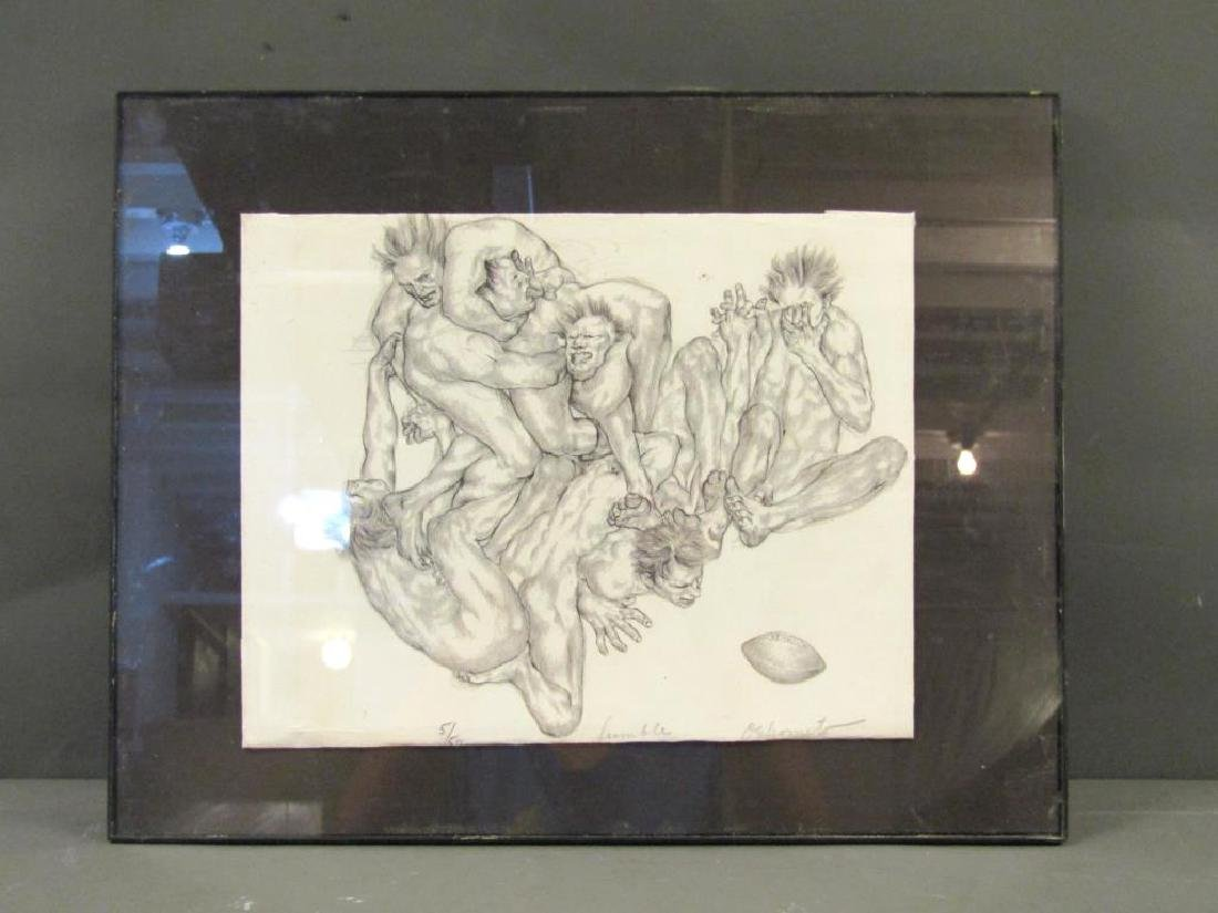 Signed Illegibly - Lithograph - 2