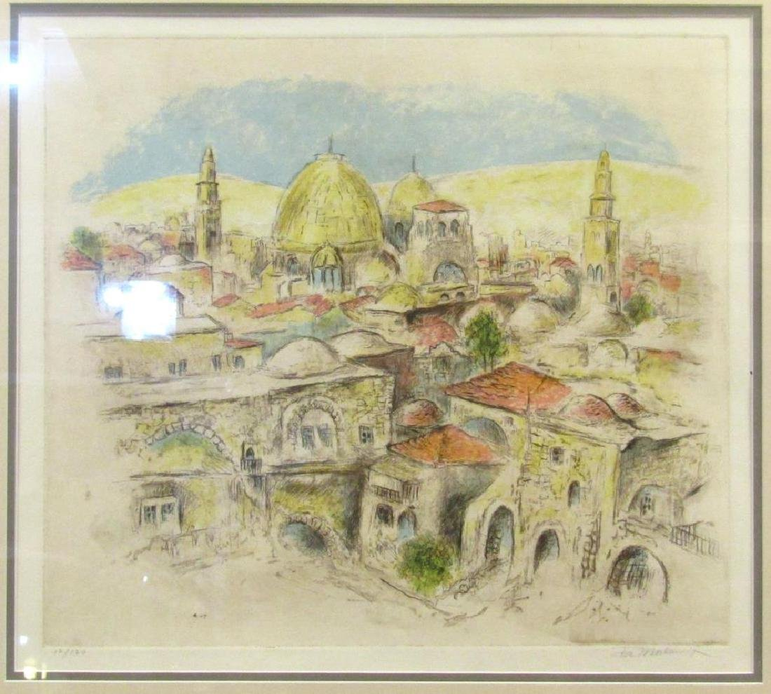 Ira Moskowitz - Lithograph