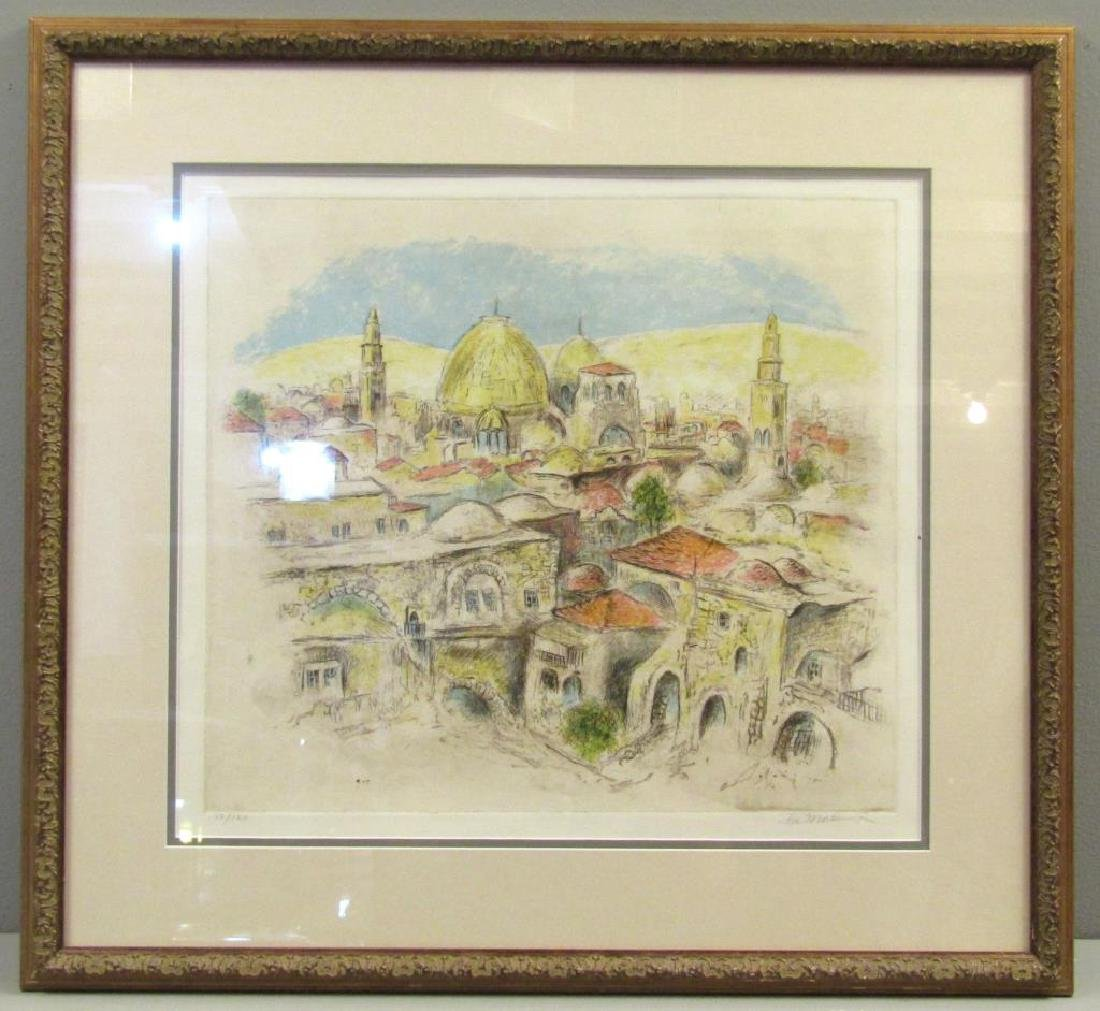 Ira Moskowitz - Lithograph - 2