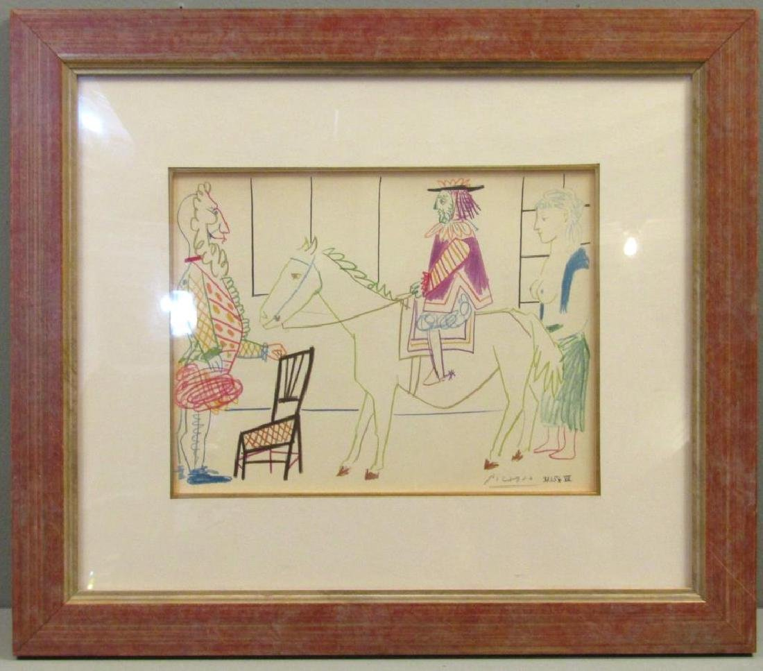 After Pablo Picasso - Lithograph - 2