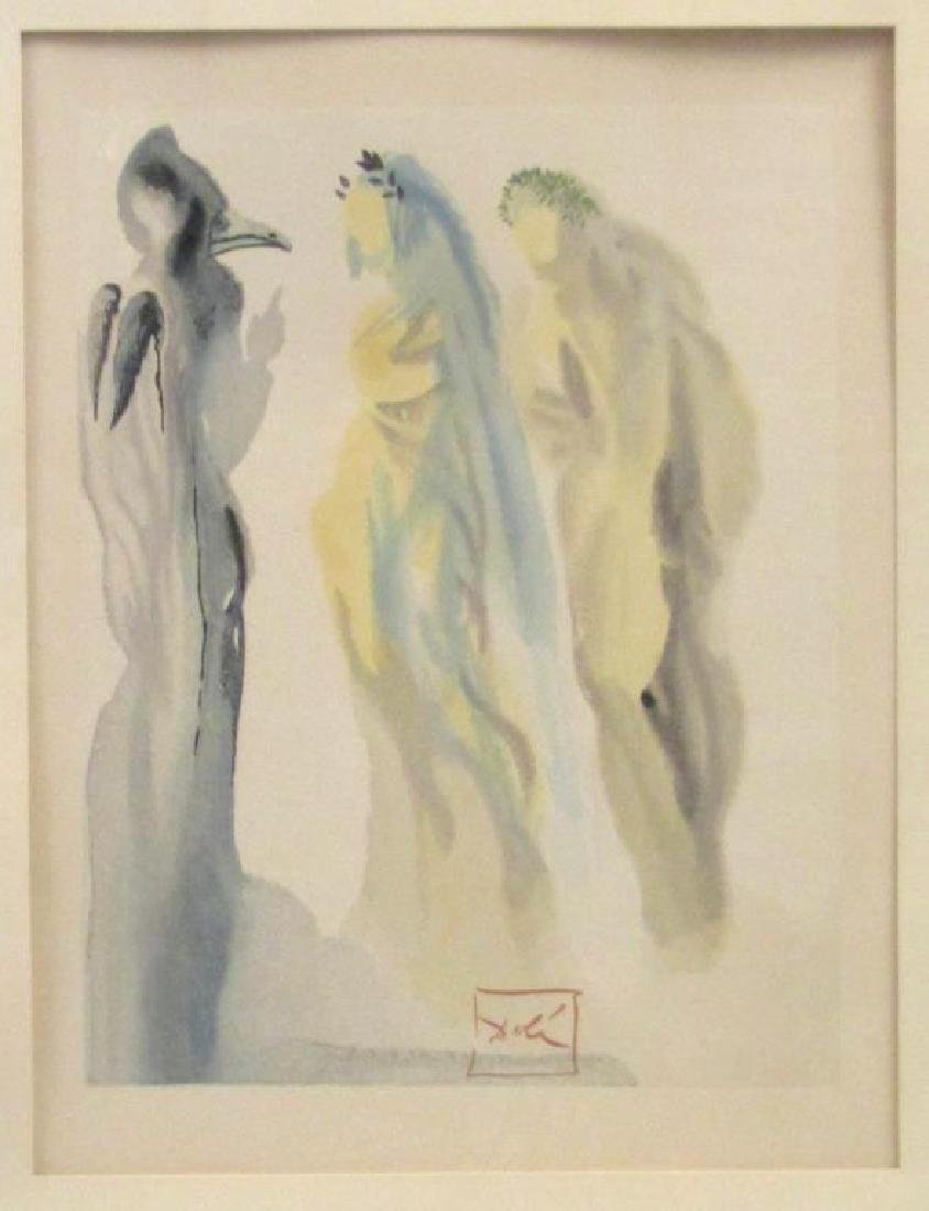 Salvador Dali Color Print