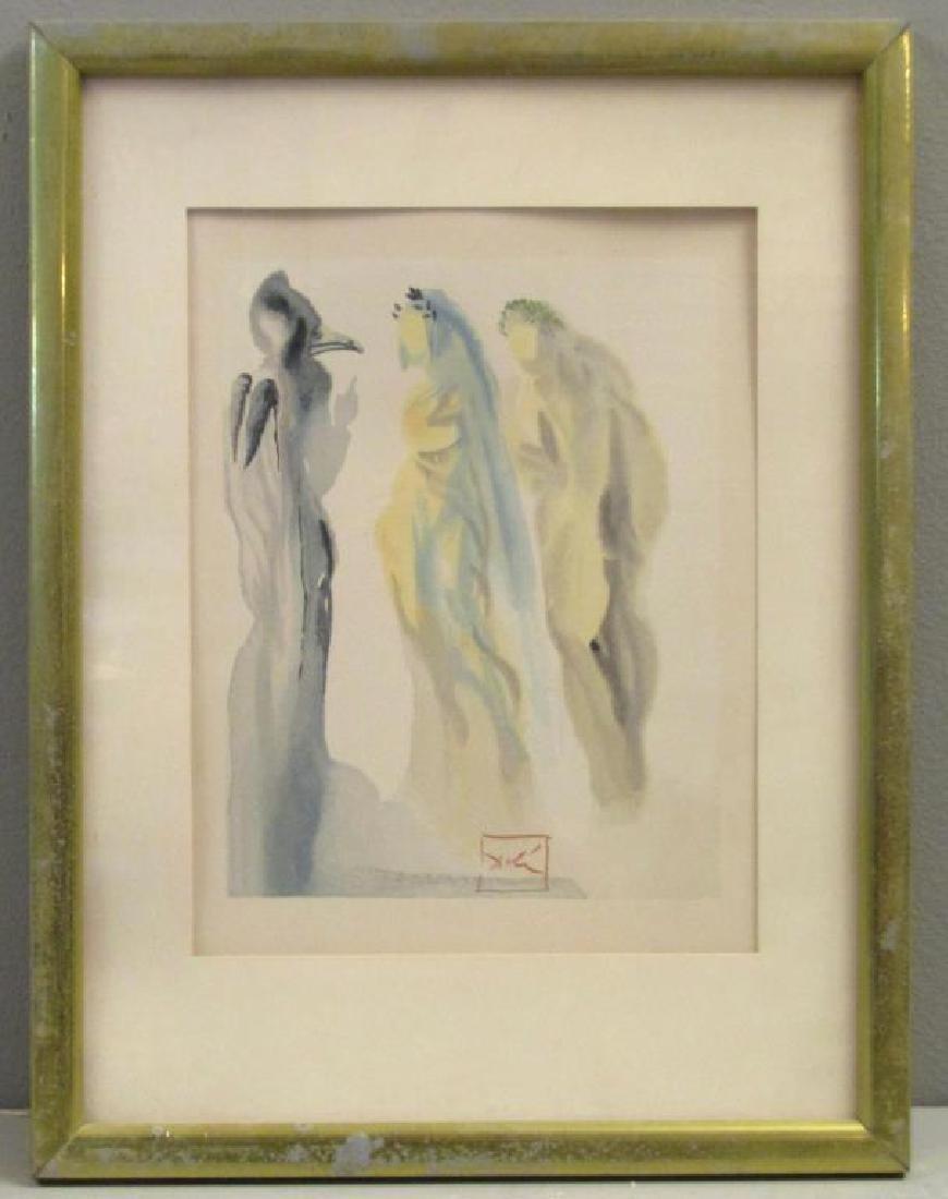 Salvador Dali Color Print - 2