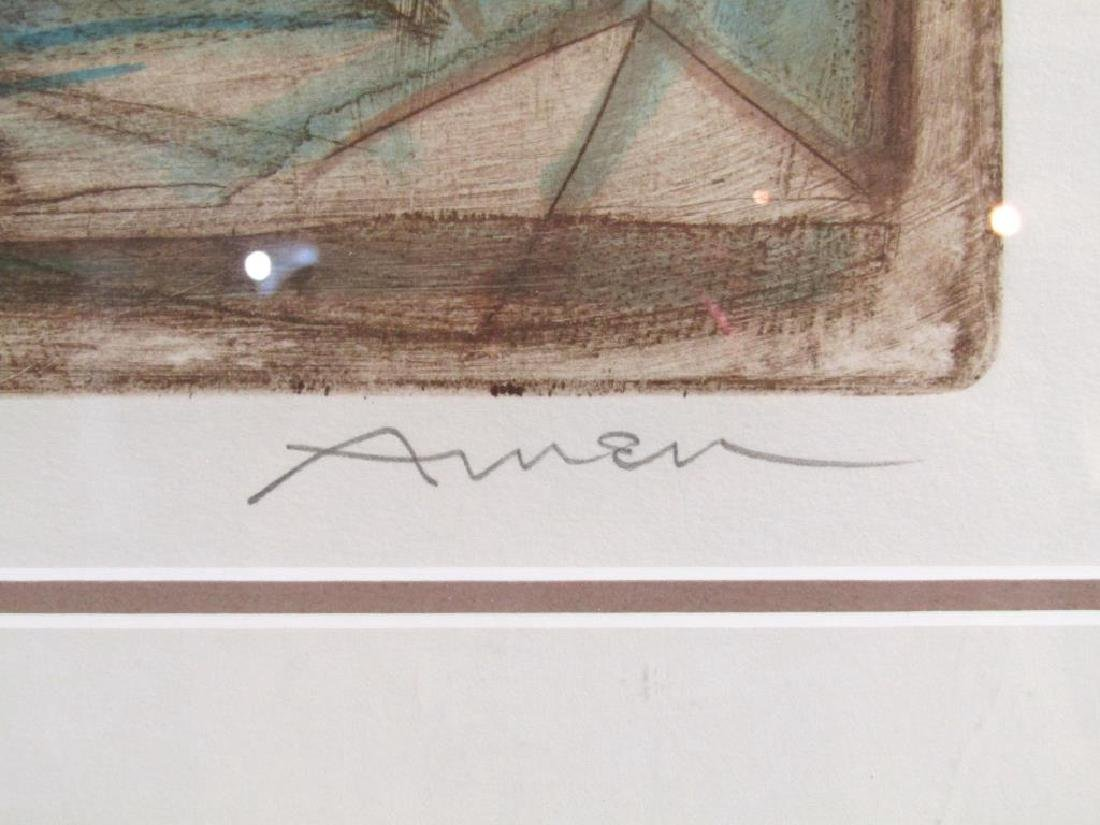 Irving Amen - Etching - 6