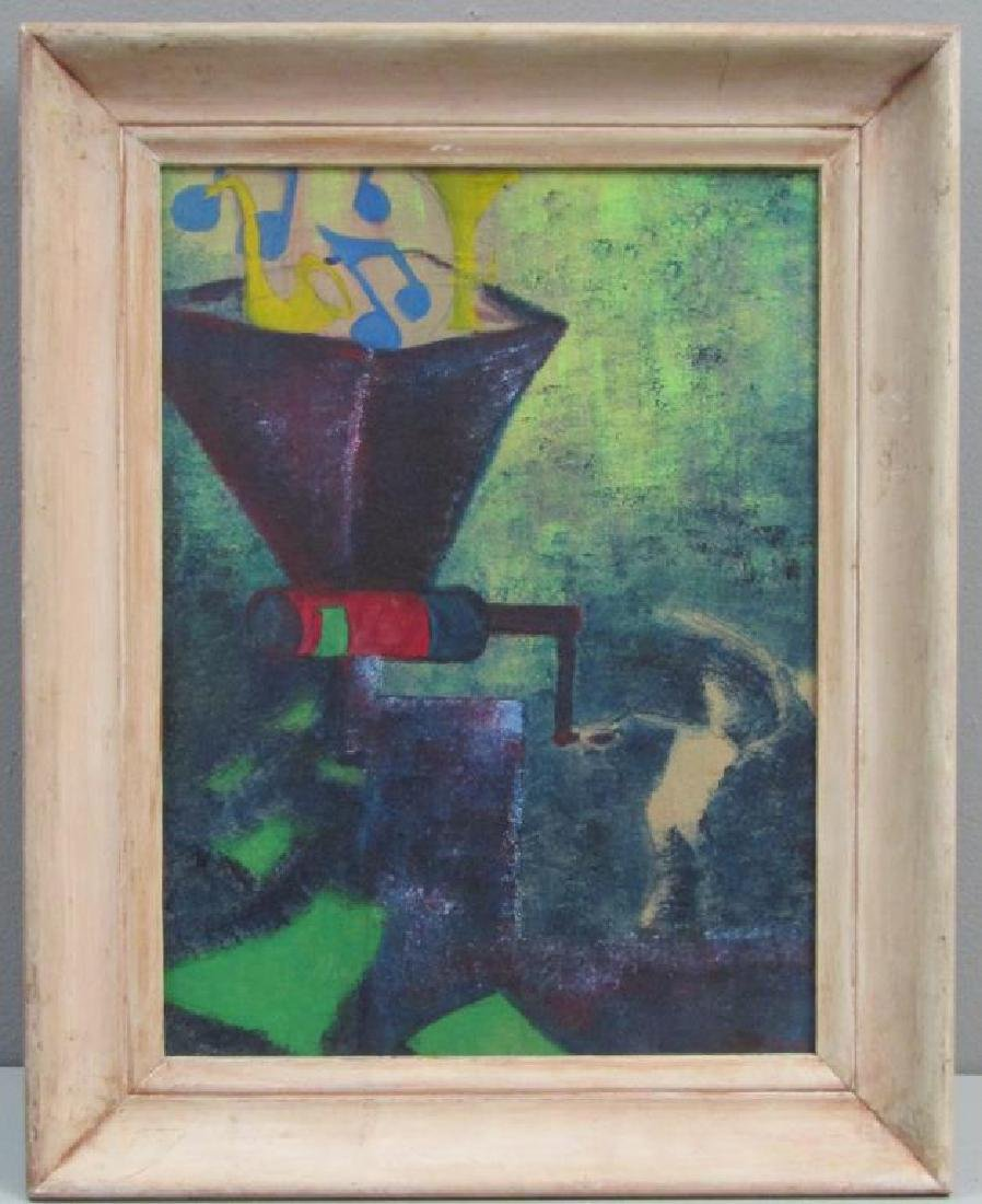 After Man Ray - Oil on Board - 2