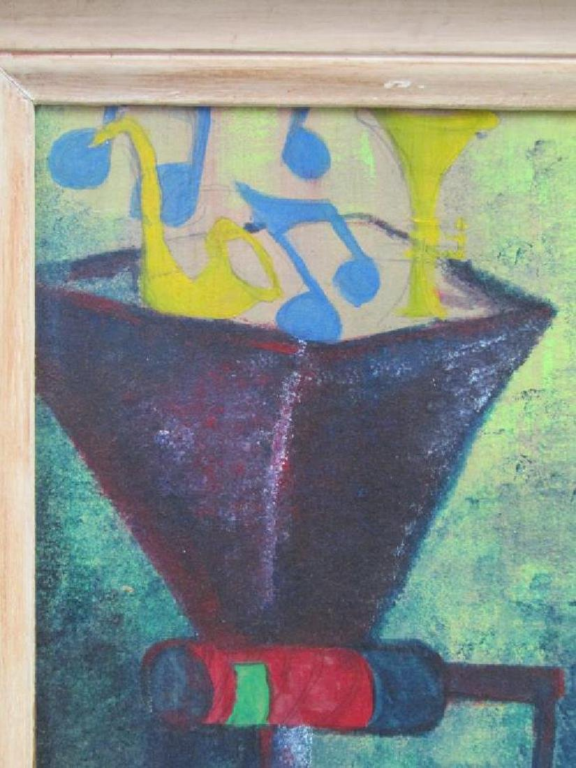 After Man Ray - Oil on Board - 3