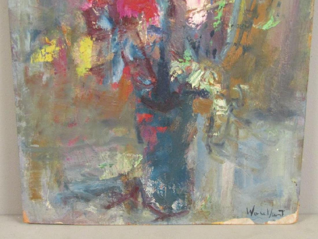 Signed Illegibly- Oil on Artist Board - 3