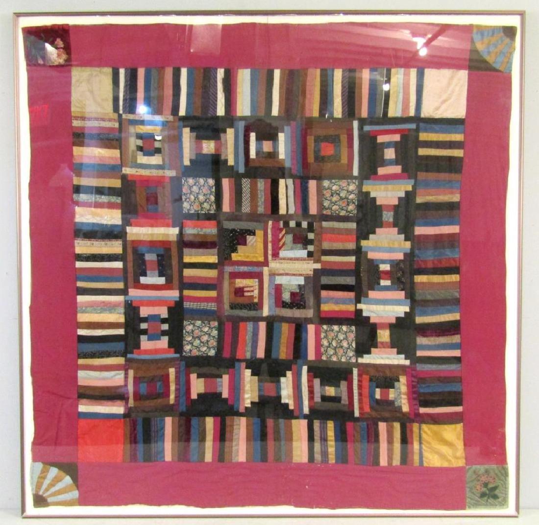 Vintage American Patchwork Quilt