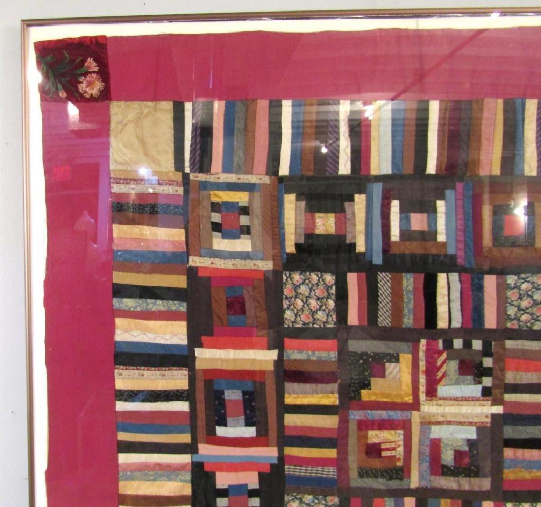 Vintage American Patchwork Quilt - 2