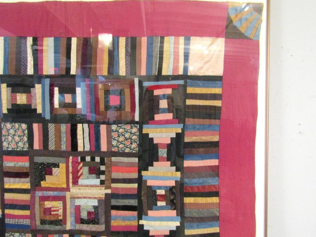 Vintage American Patchwork Quilt - 3