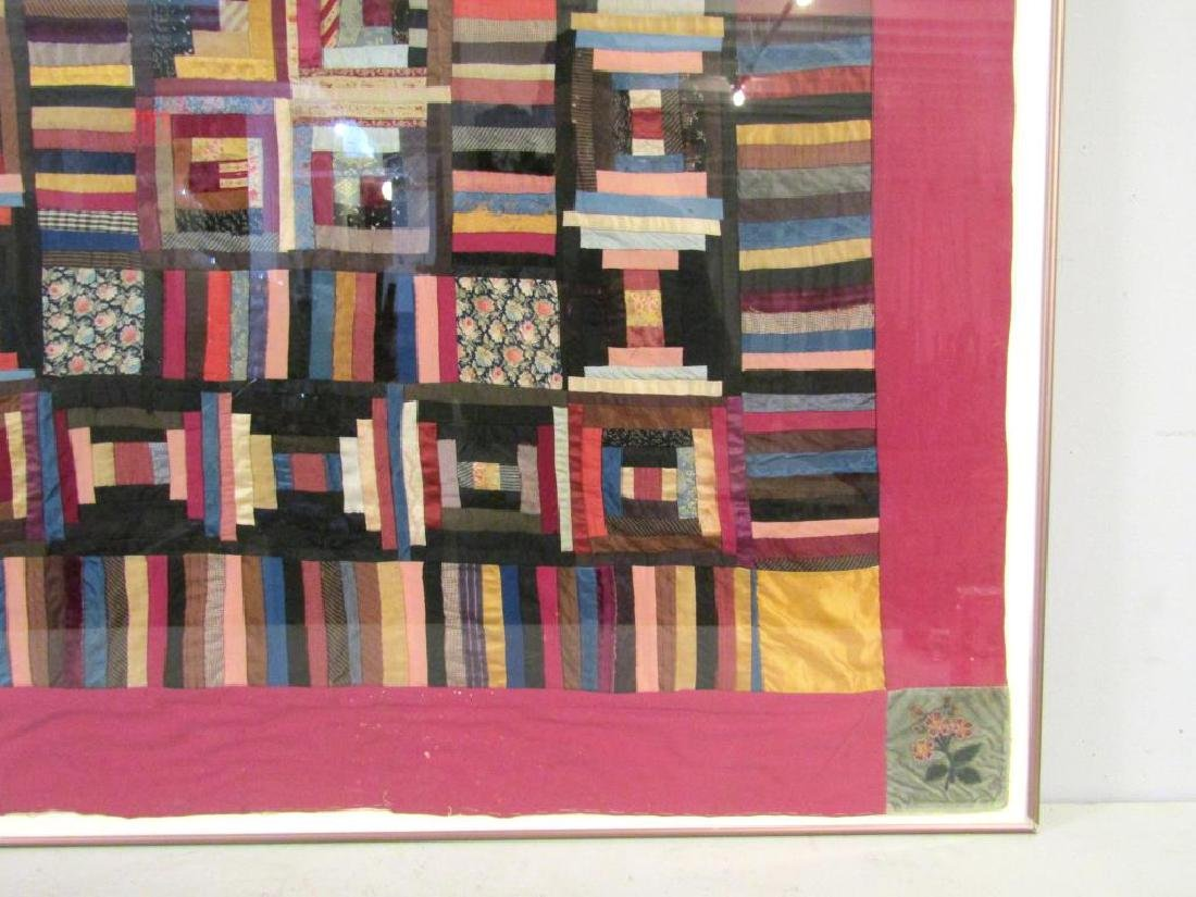Vintage American Patchwork Quilt - 4