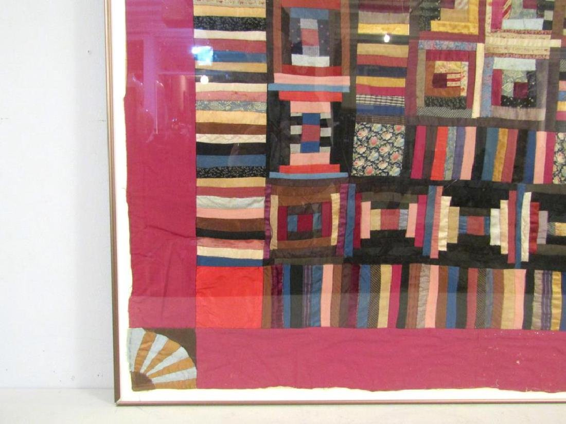 Vintage American Patchwork Quilt - 5