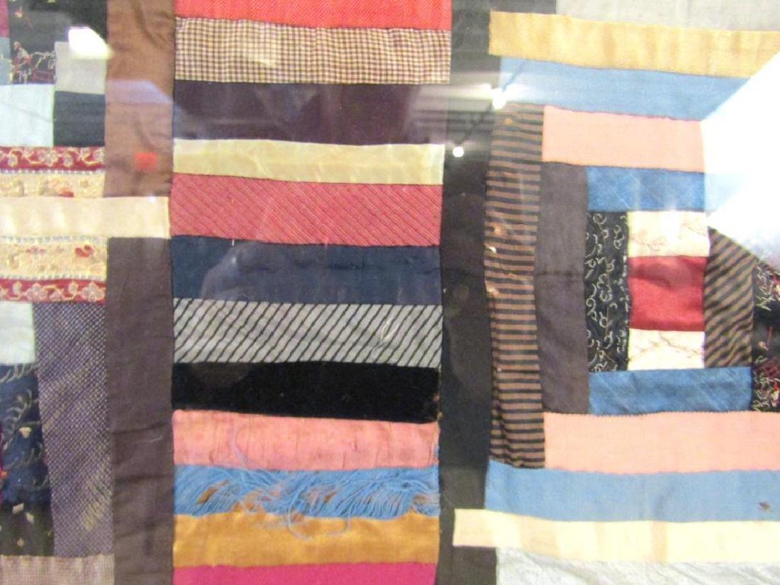 Vintage American Patchwork Quilt - 6