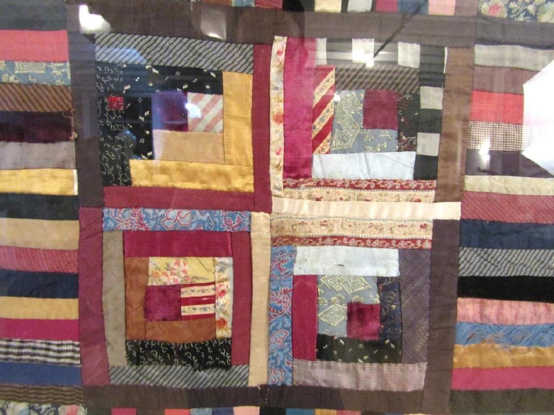 Vintage American Patchwork Quilt - 7